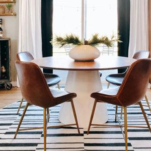 Какой формы выбрать ковёр? Не ограничивайтесь традиционной формой!